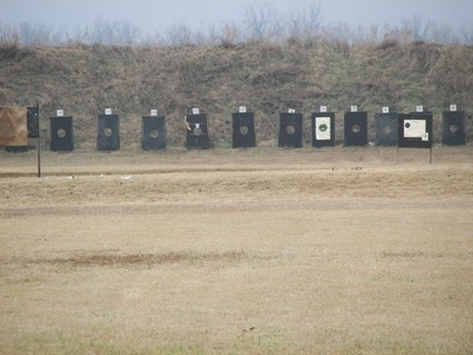 Nope. Still not our range. But the targets look like that. Well, sort of. Just squint, okay?